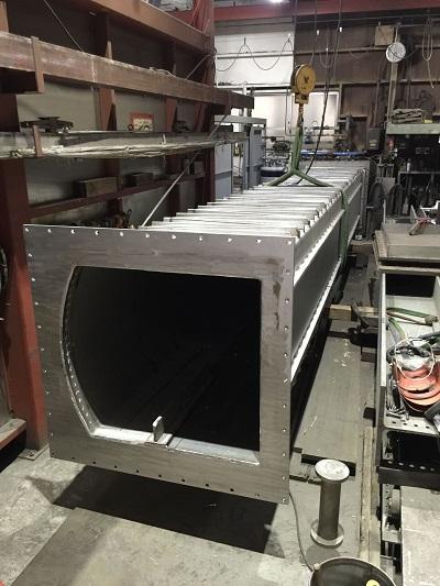 SUS310S 連続炉 マッフル