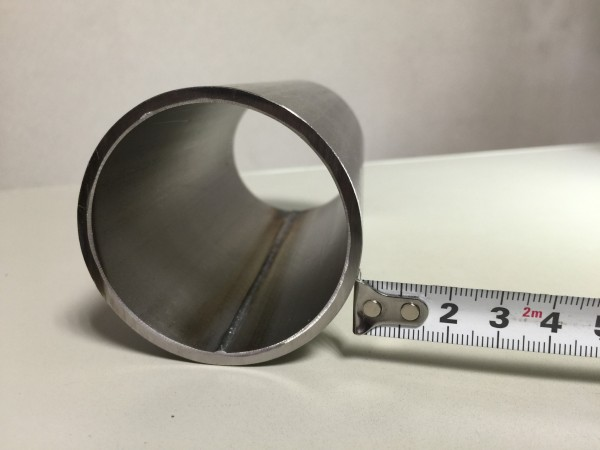 ハステロイ 板巻きパイプ 60.5Φ x 3t