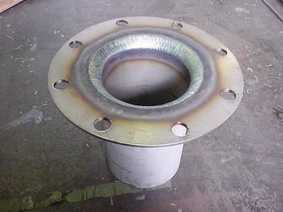 SUS304 ステライト肉盛配管
