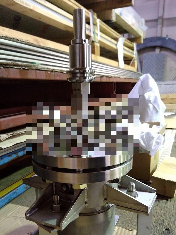 ニッケル合金溶接品(C276反応容器)